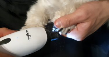 Dog Nail Grinders with Light