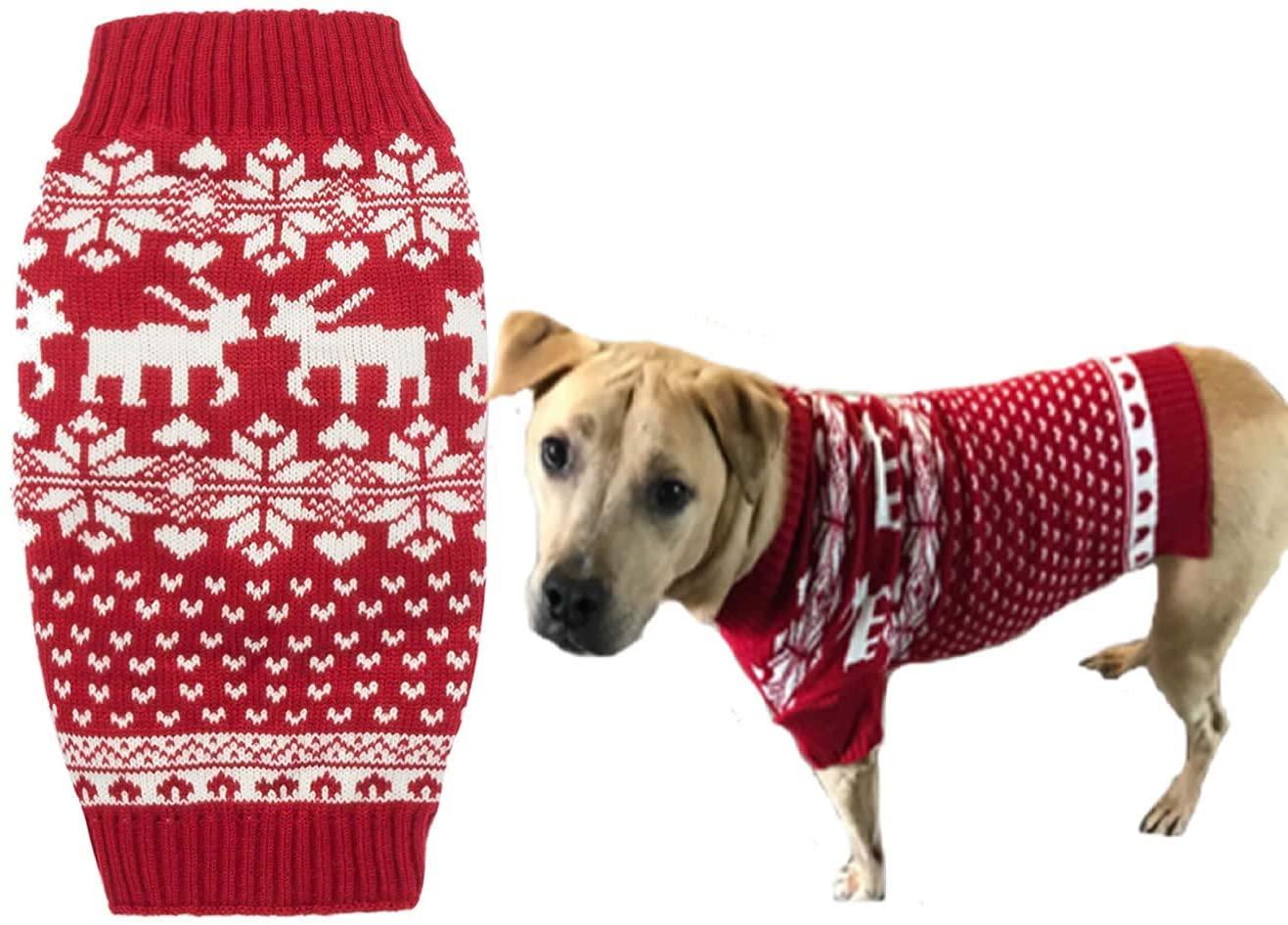 Lanyar Dog Christmas Sweater