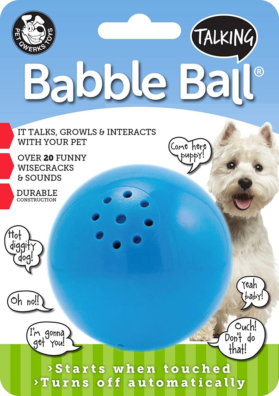 Pet Qwerks Talking Interactive Babble Ball