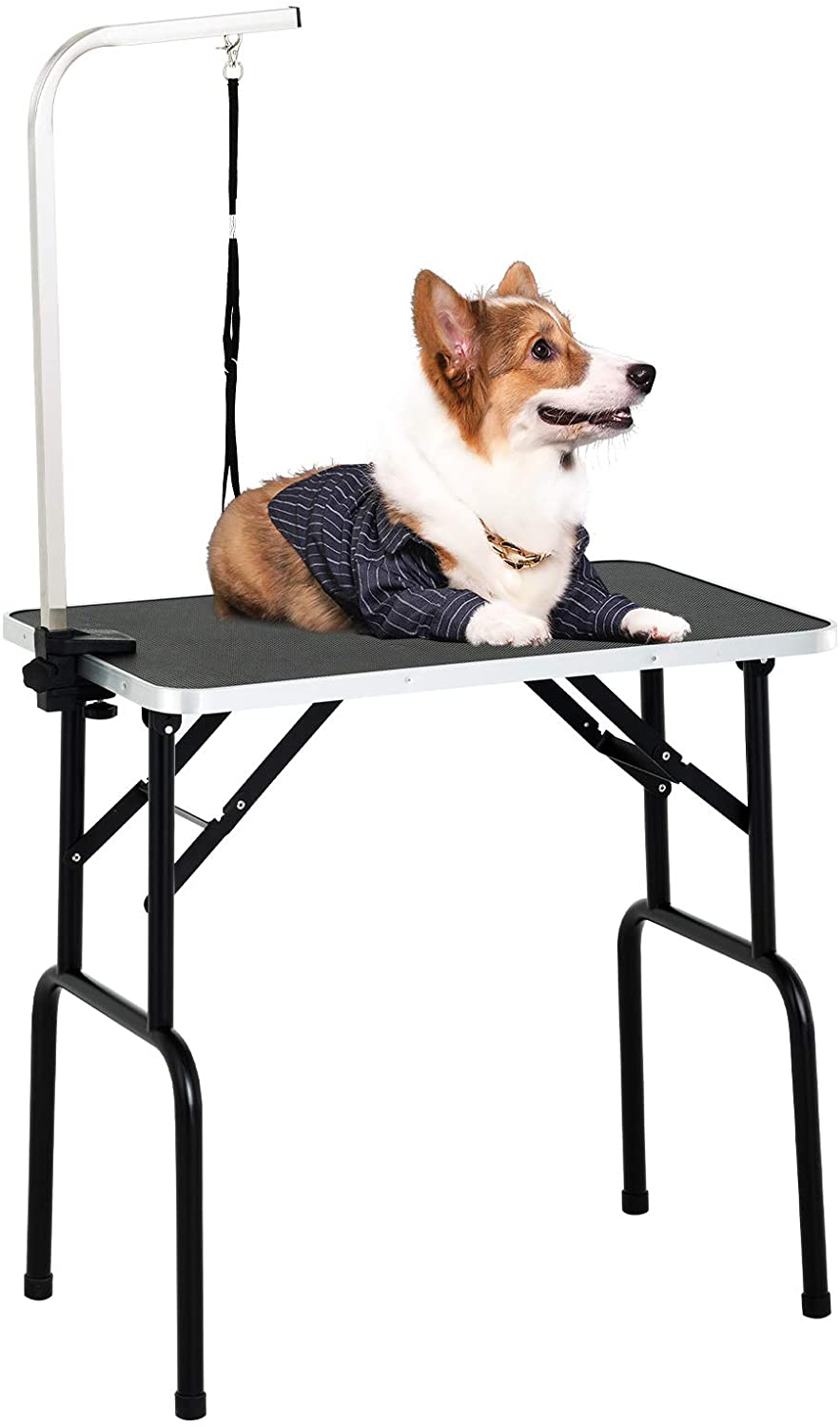 SUNCOO Portable Pet Dog Grooming Table for small dogs
